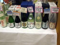 日本酒の試飲・販売(2)