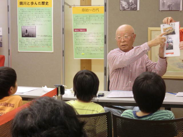 8/1開催 依光裕さんの鏡川漁教室②
