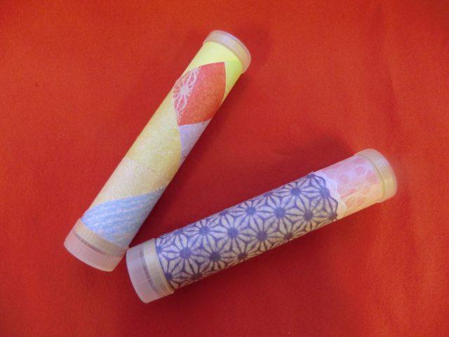 土佐和紙を使用した万華鏡