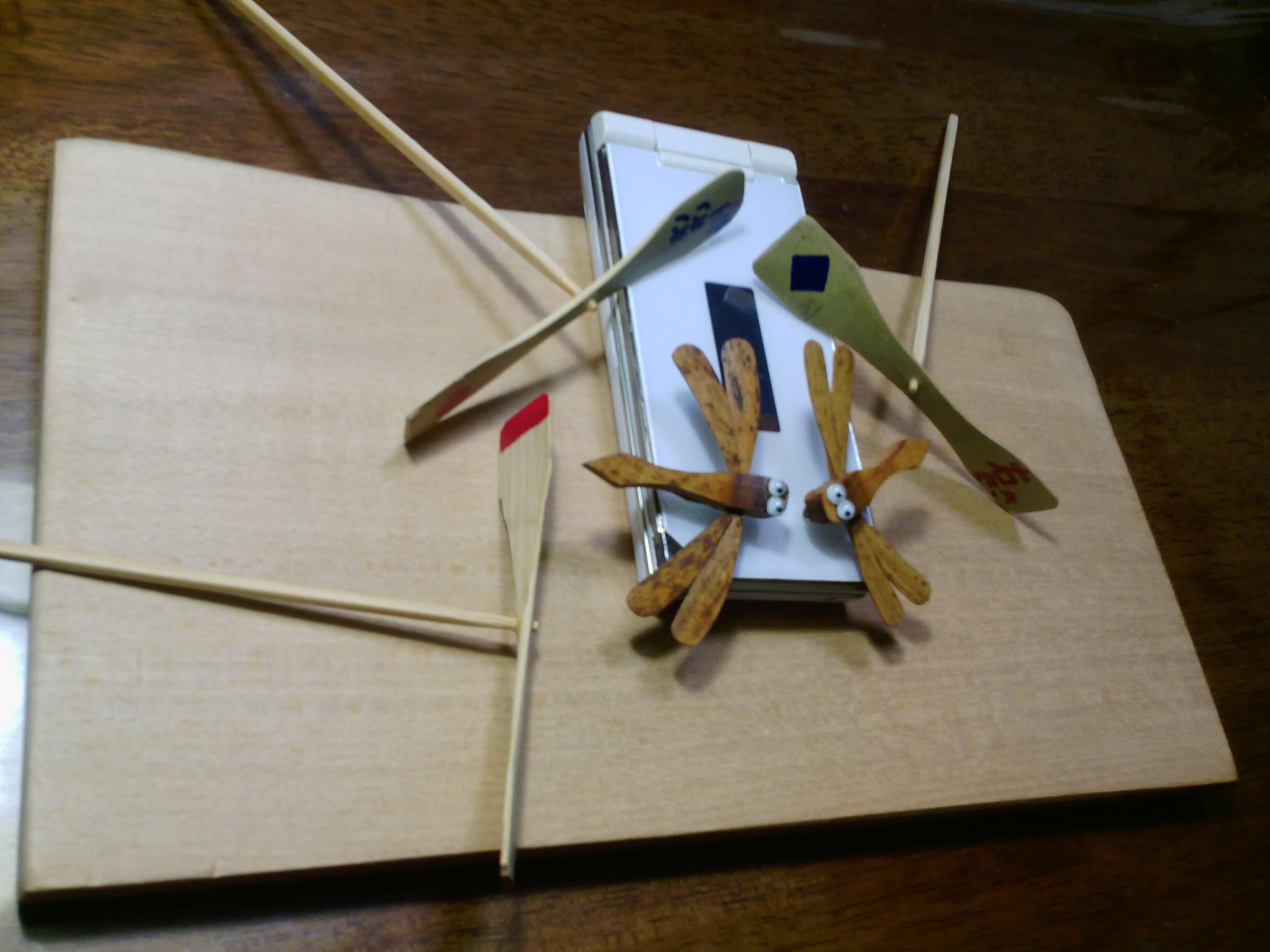 ワークショップ「竹とんぼ」