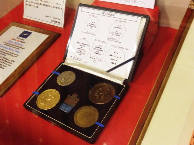 北村久寿雄選手の金メダル