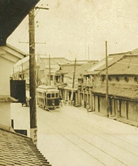 戦前の電車通り